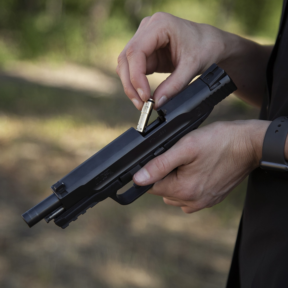 サイトマーク ボアサイト Accudot 9mm Luger Red Laser Boresight Sightmark SM39052