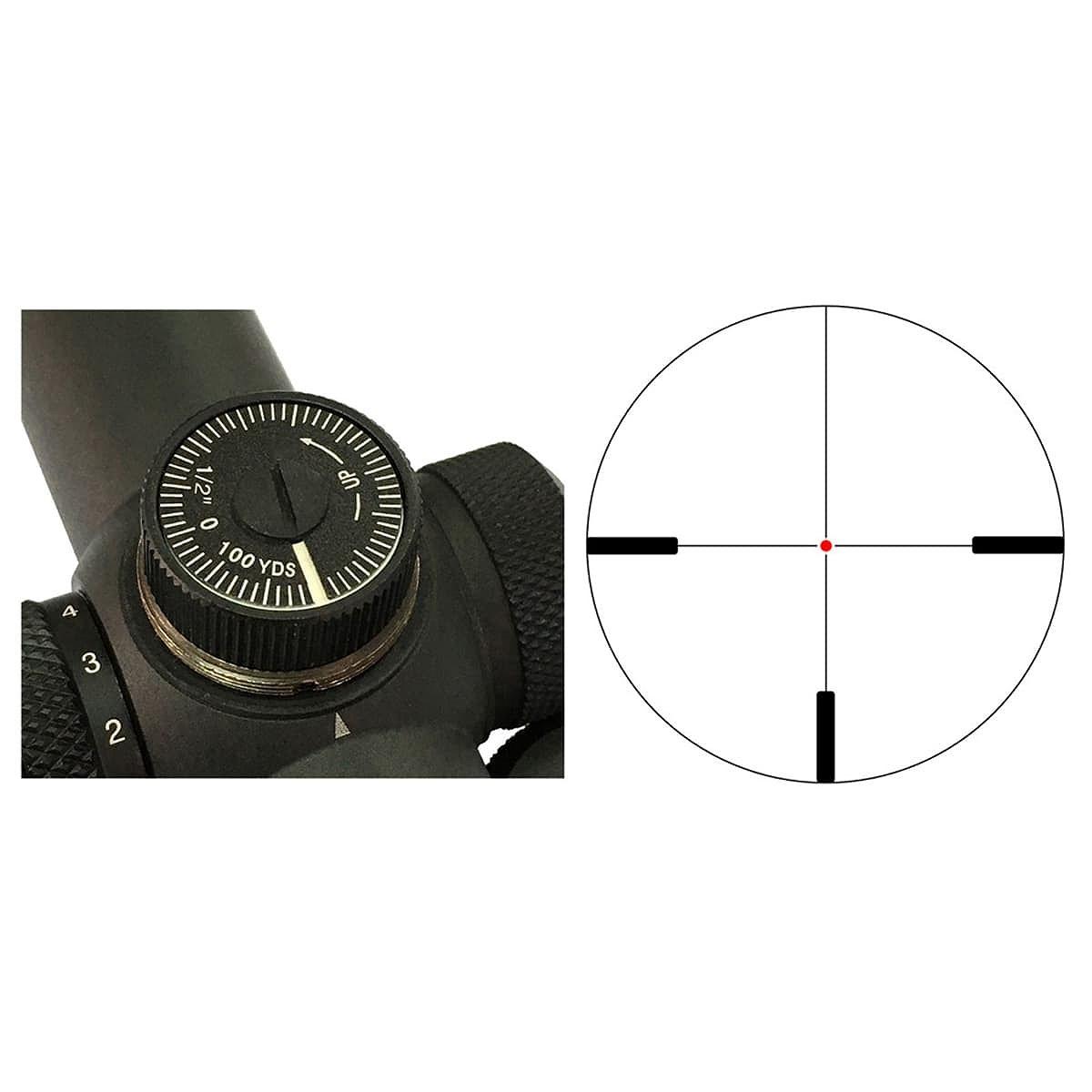 【お届け予定日: 2月28日】ベクターオプティクス ライフルスコープ Forester 1-5x24  Vector Optics SCOC-03
