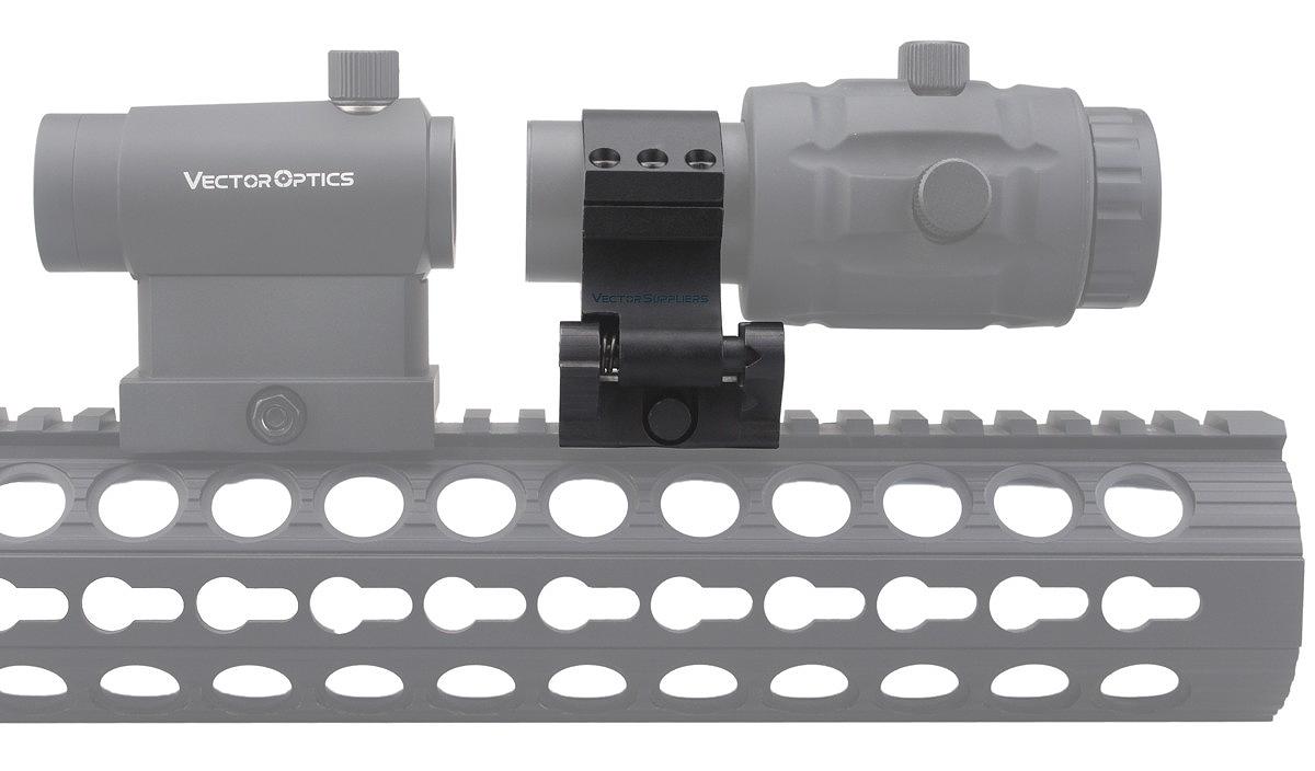 ベクターオプティクス スコープマウント 30mm Steel Flip to Side Picatinny Ring  Vector Optics SCSR-08