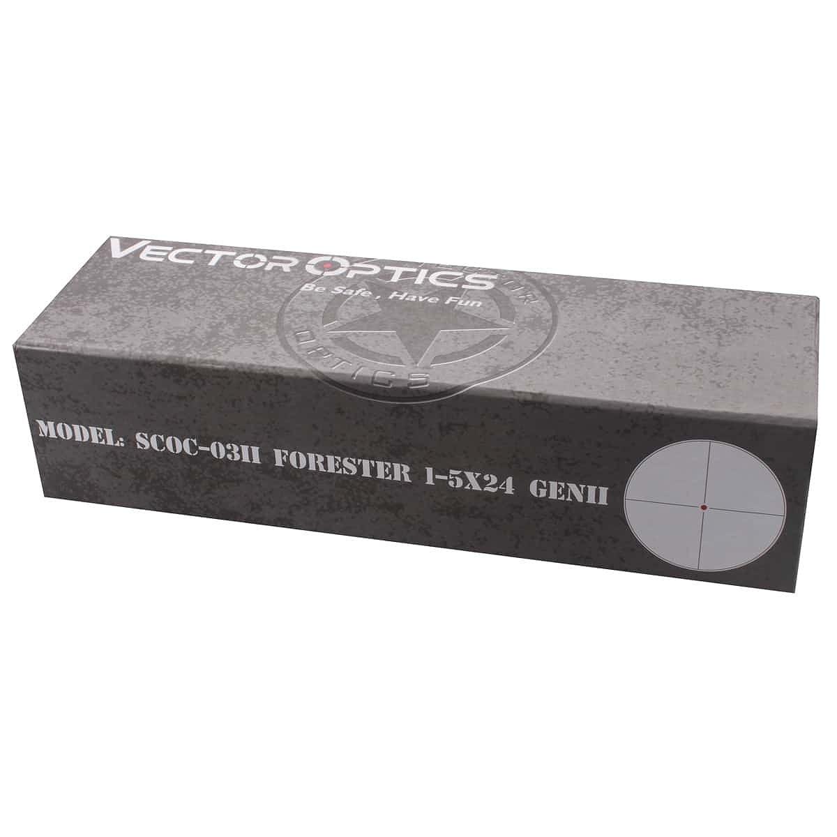 ベクターオプティクス ライフルスコープ フォレスター 1-5x24 GenII  Vector Optics SCOC-03II