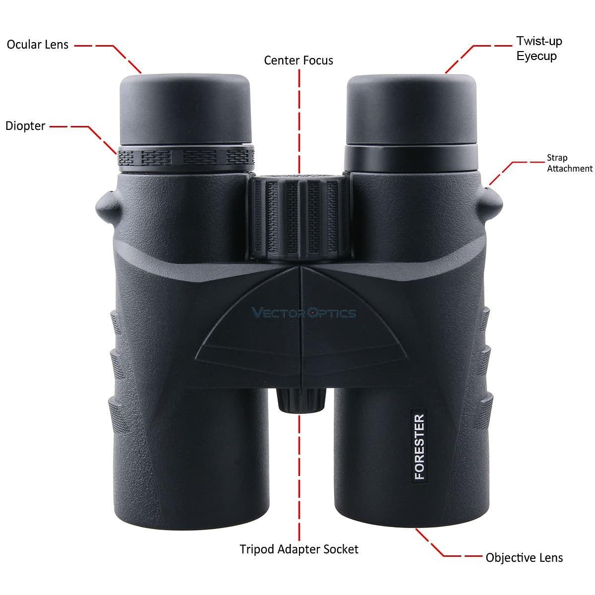 ベクターオプティクス ライフルスコープ Forester 8x42  Vector Optics SCBO-01
