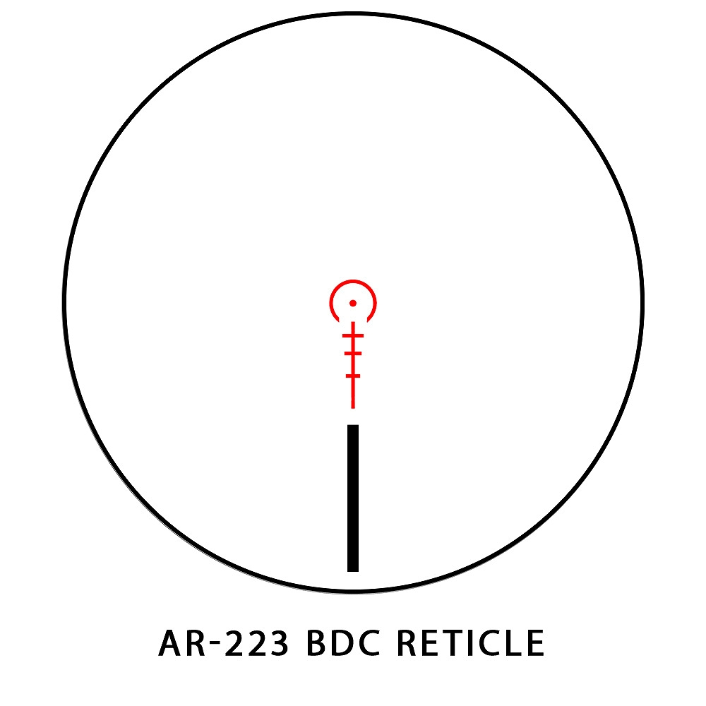 サイトマーク ライフルスコープ Core TX 1-4x24 AR-223 BDC Riflescope Sightmark SM13082AR.223
