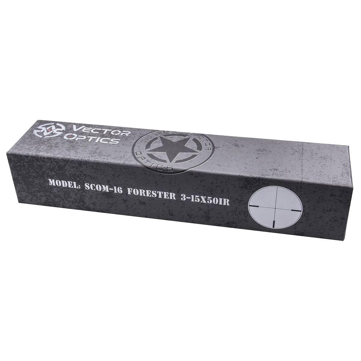 【お届け予定日: 4月30日】ベクターオプティクス ライフルスコープ Forester 3-15x50  Vector Optics SCOM-16