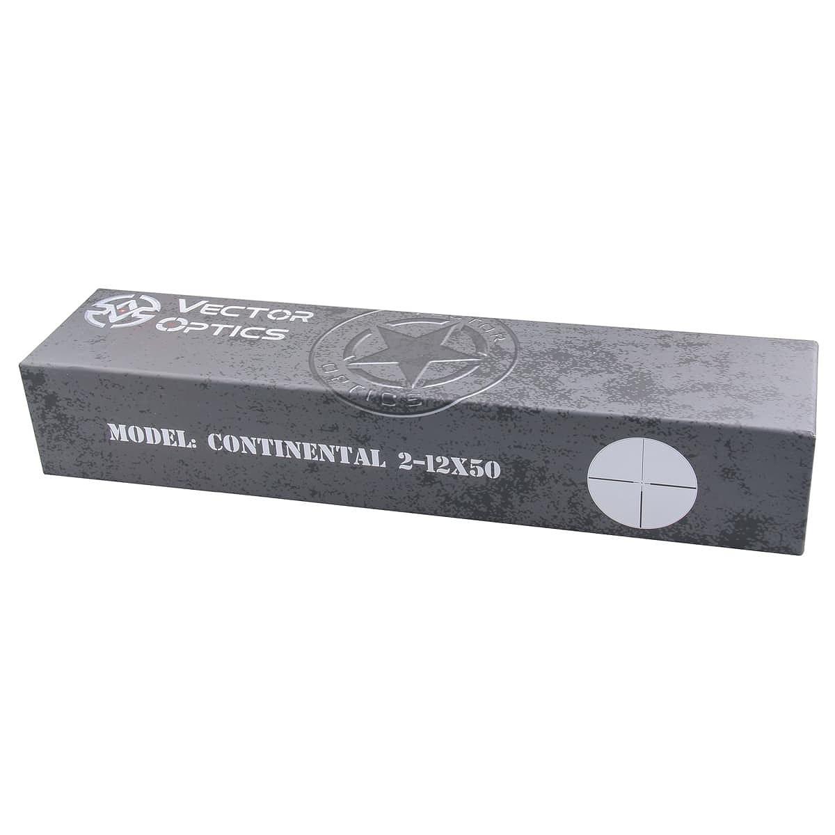 ベクターオプティクス ライフルスコープ Continental 2-12x50  Vector Optics SCOM-15