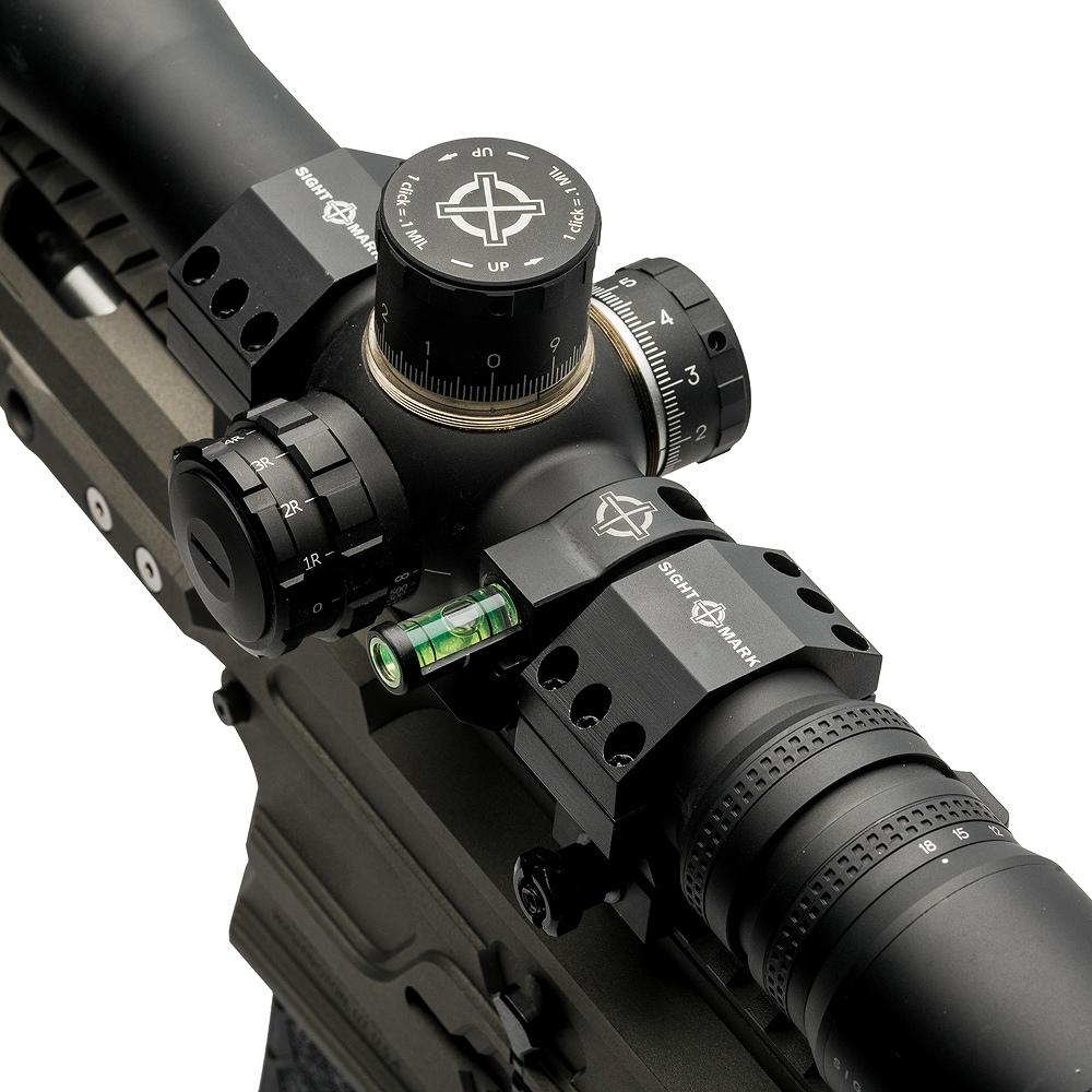 サイトマーク スコープマウント 34mm Bubble Level Ring Sightmark SM19045