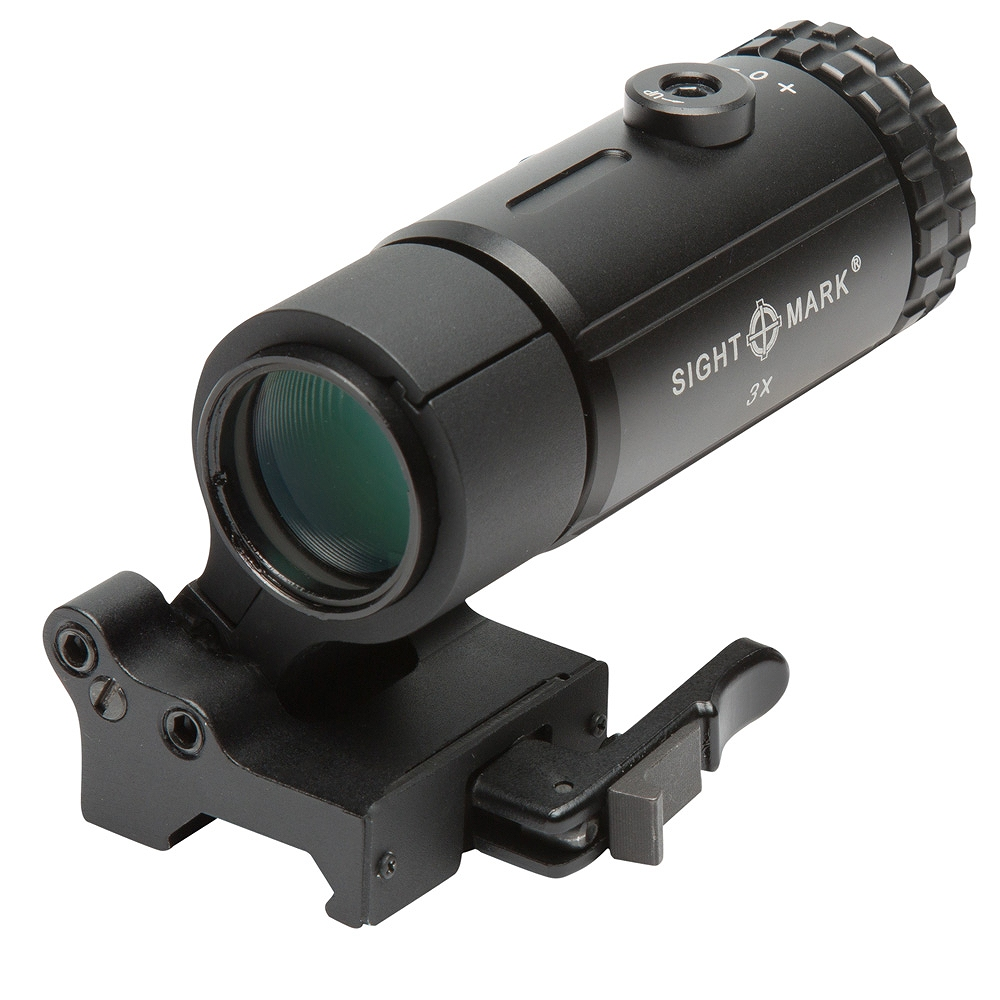 サイトマーク マグニファイア T-3 Magnifier with LQD Flip to Side Mount Sightmark SM19063