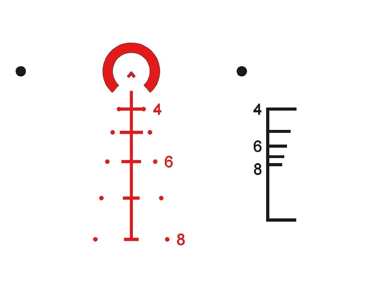 プライマリーアームズ SLx 1-6x24mm SFP ライフルスコープ Gen III - Illuminated ACSS-5.56/5.45/.308 - PA1-6X24SFP-ACSS-5.56