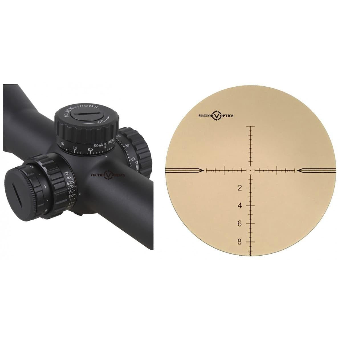 【お届け予定日: 5月30日】ベクターオプティクス ライフルスコープ Taurus 3-18x50  Vector Optics SCFF-11