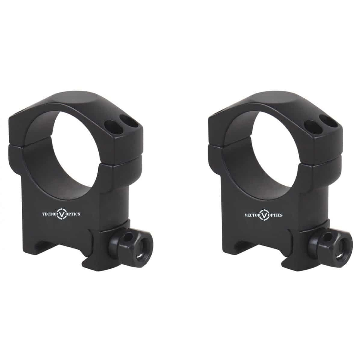【お届け予定日: 5月30日】ベクターオプティクス スコープマウント 30mm Mark High ProfileWeaver Rings  Vector Optics SCTM-08