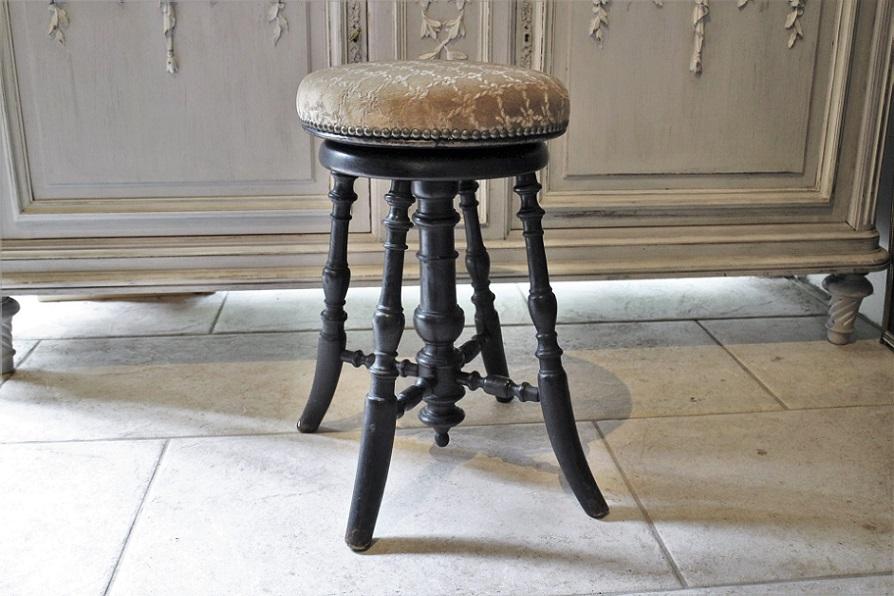 フランス ナポレオン ピアノスツール 4192