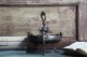 フランス エンジェル装飾のついたブロンズ高台トレイ 2227
