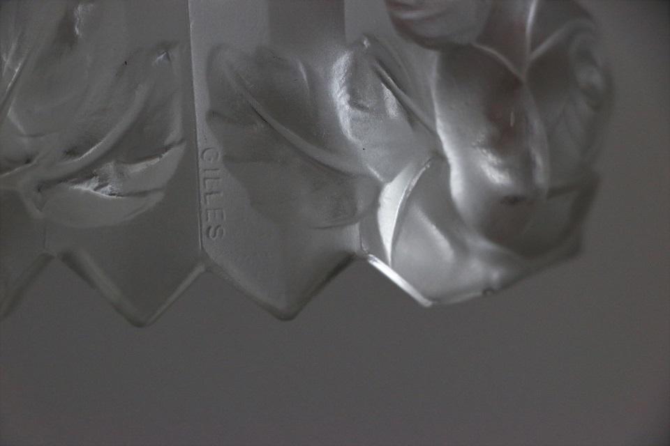 ピエール・ジル アール・デコ 3灯式シャンデリア TH002