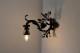 フランス ロートアイアン1灯式ウォールランプ 作者不明 4021