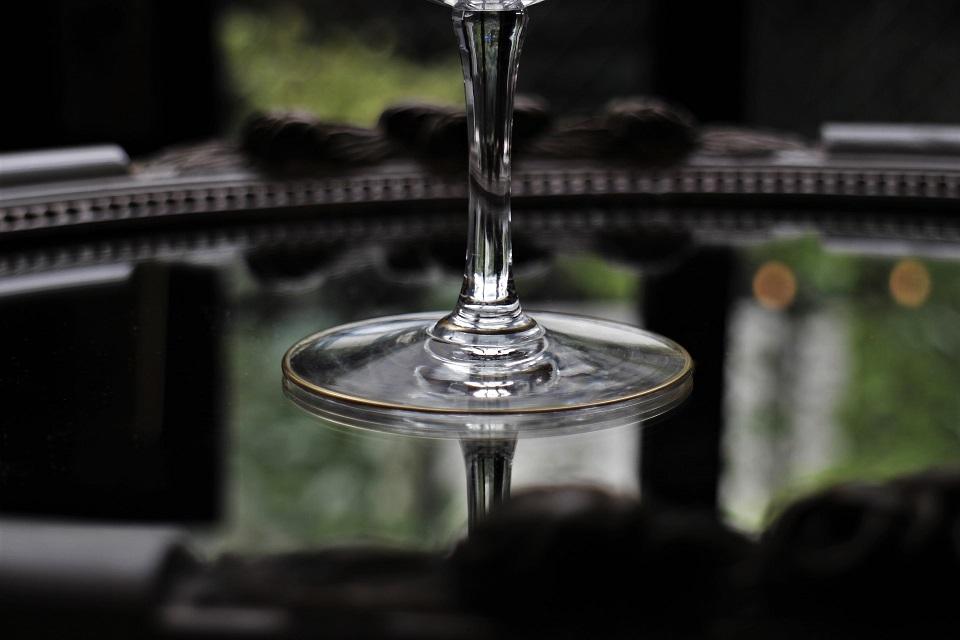 バカラ ビザンチン 金彩シャンパンクープ 5022