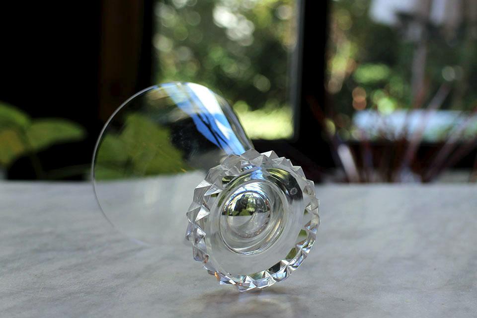 サンルイ ディアマン ワイングラス 3154