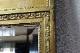 フランス ルイ15世様式 リースの装飾が施されたゴールドペインテッドミラー 1389