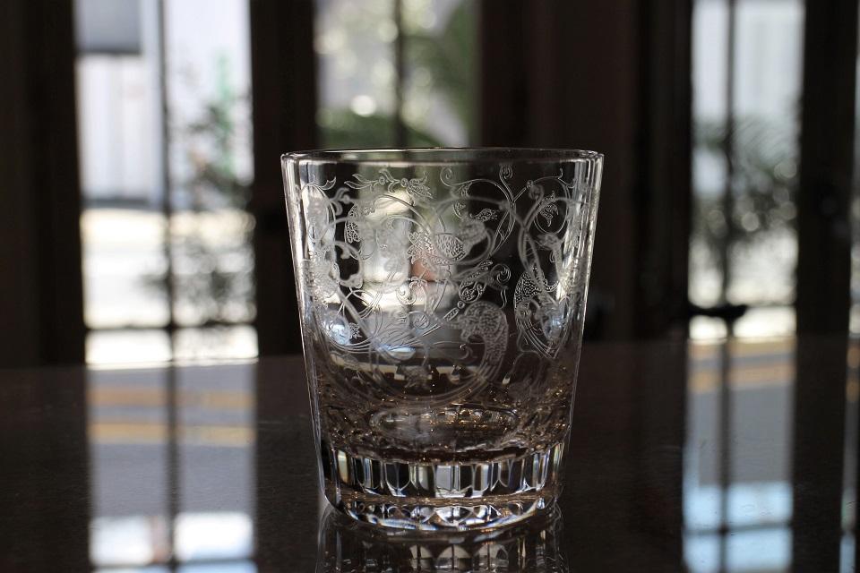 バカラ パルメ ロックグラス 4832