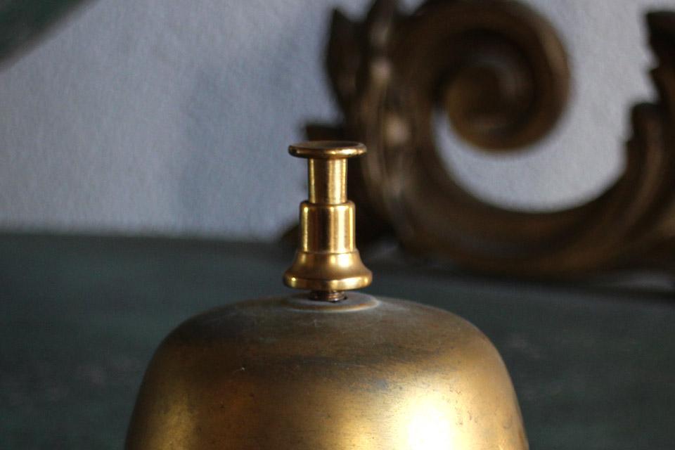 フランス 真鍮ホテルベル 4262