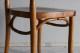 アールヌーボーの美しいエンボスが施されたベントウッドチェア 4093