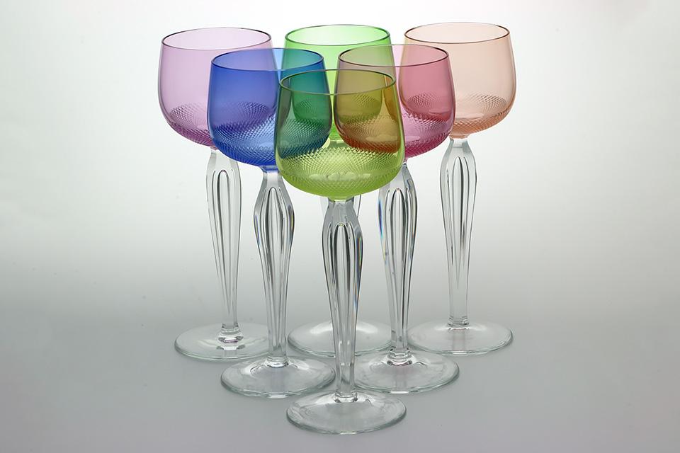 《SALE》 モーゼル/ワイングラス6pcs184mm 1241