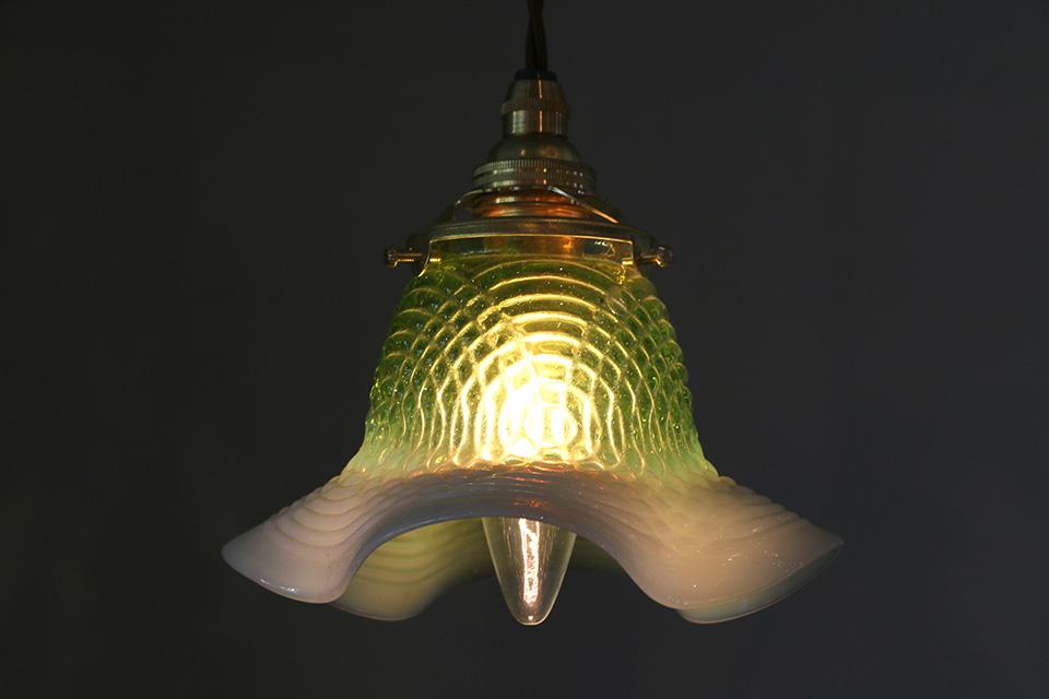 ランプシェード / オパールセントグリーン  005/490