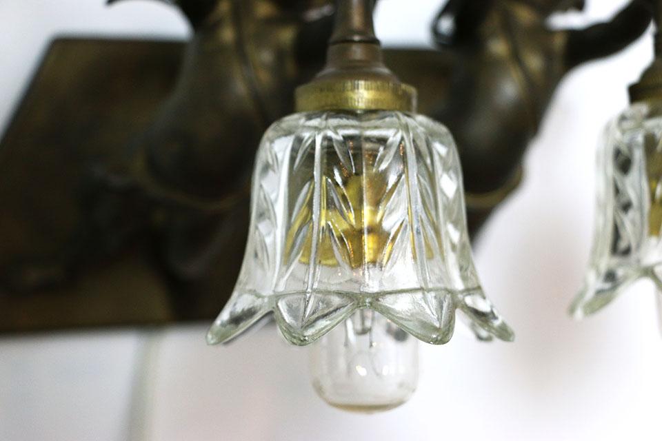 フランス エンジェルウォールブラケットランプ 1372