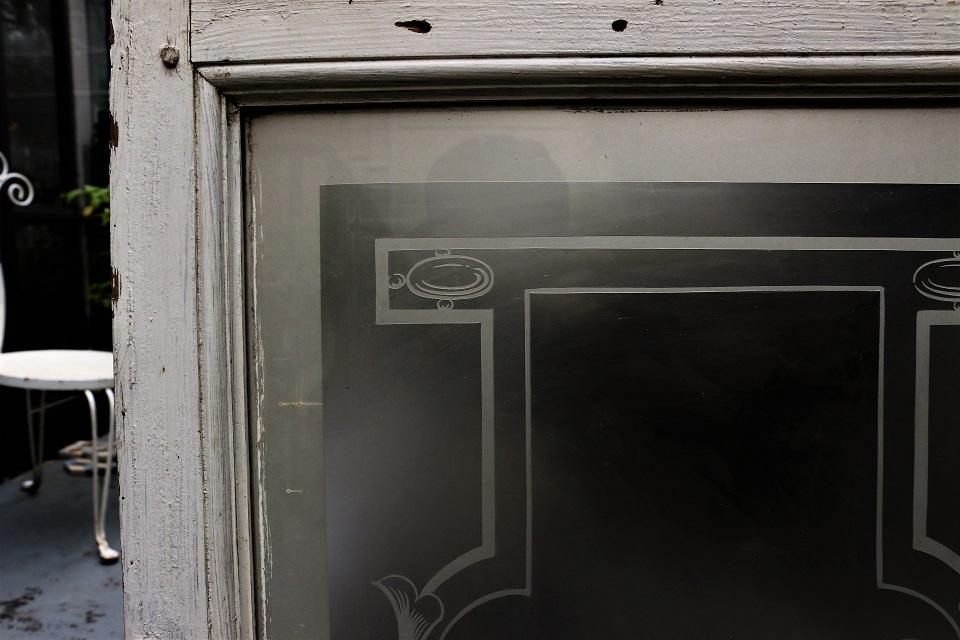 フランス エッチングガラスパネル 4070