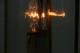 真鍮フレームの小さな2灯式ランタン型ランプ 4746
