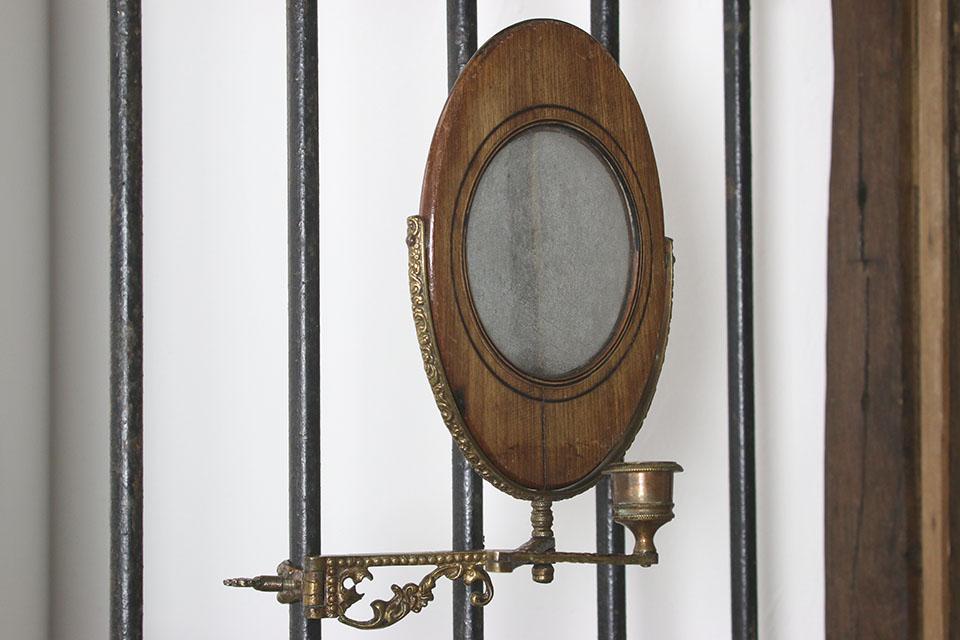 真鍮ウォールミラー 852