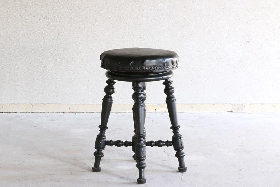 《 SALE 》 ブラックピアノスツール 2240