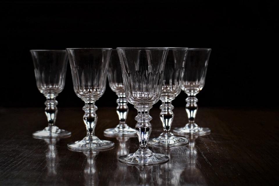 バカラ チューリップ ワイングラス 112mm 529