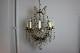 フランス アンティーク 大きなクリスタルドロップがついた華やかなシャンデリア 12灯 1355