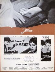 バルタザールどこへ行く 1966年 ロベール・ブレッソン監督