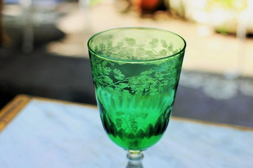 バカラ リリーオブバレー ポートワイングラス 3499