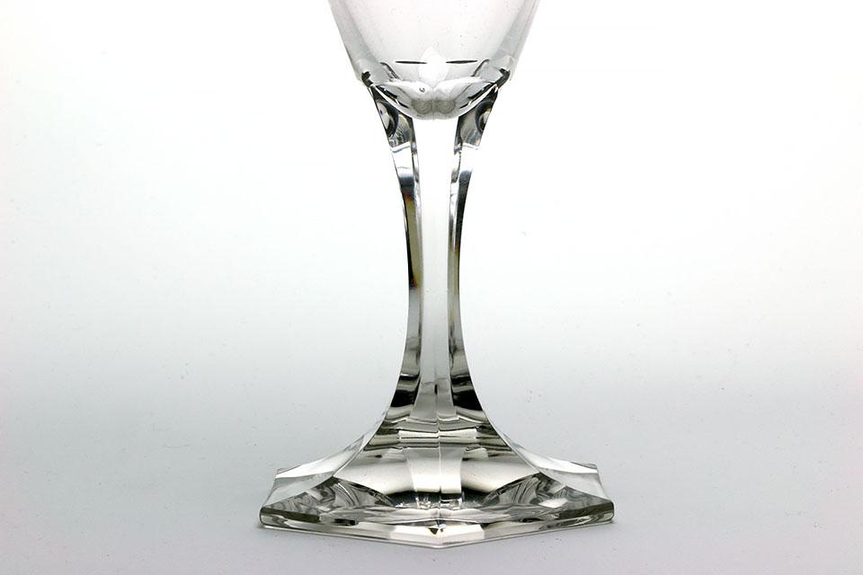 《SALE》モーゼル 金彩ワイングラス 296-2