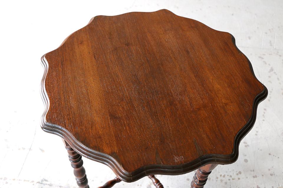 《 SALE 》 ボビンレッグ マホガニーサイドテーブル 590