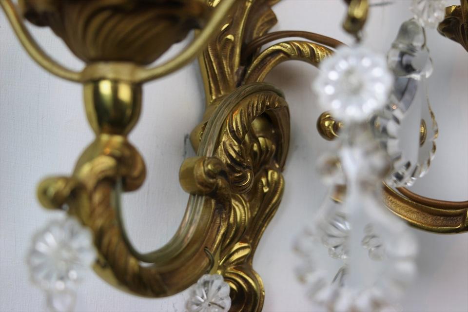 真鍮ウォールブラケットランプ 4437_02