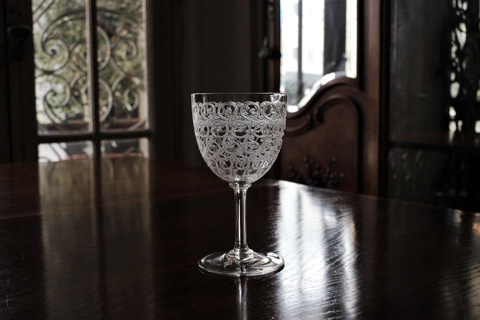 バカラ ローハン コンブール ワイングラス 15cm 4992