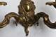ロココな真鍮ウォールブラケットランプ 4509