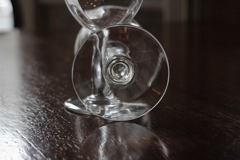 バカラ シャブリ フルールドリス ワイングラス 11.7cm 4978