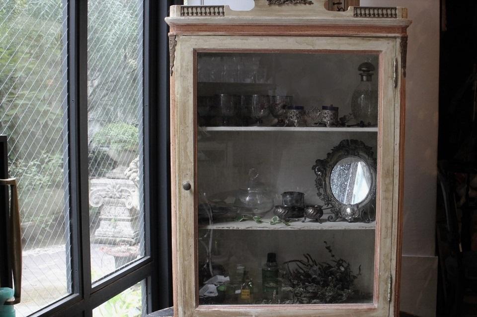 ルイ16世様式 ペインテッドウォールキャビネット 4107