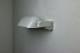 フランス リモージュ ガラスシェードの付いた陶器の壁面ランプ 3127