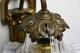 小さなガラスシェードのウォールブラケットランプ 0003_4330