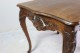 オーク 透かし彫り フレンチテーブル 4698