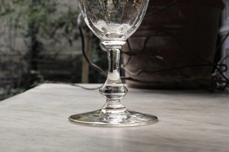 サンルイ マスネ 金彩ワイングラス 4234