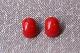 [WEST GERMANY] ヴィンテージ 赤いイヤリング  350406
