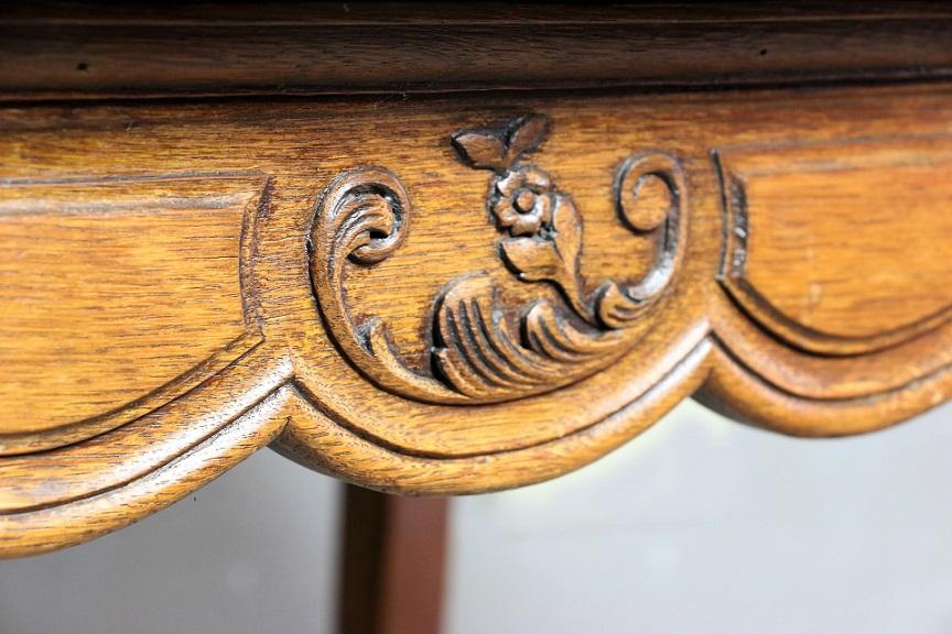 ルイ15世様式 オーク フレンチテーブル 4504