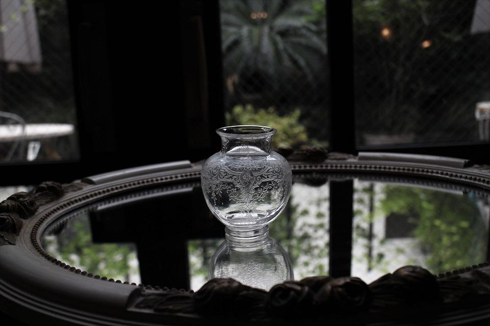 バカラ メディチ 小さなフラワーベース 76mm 5010