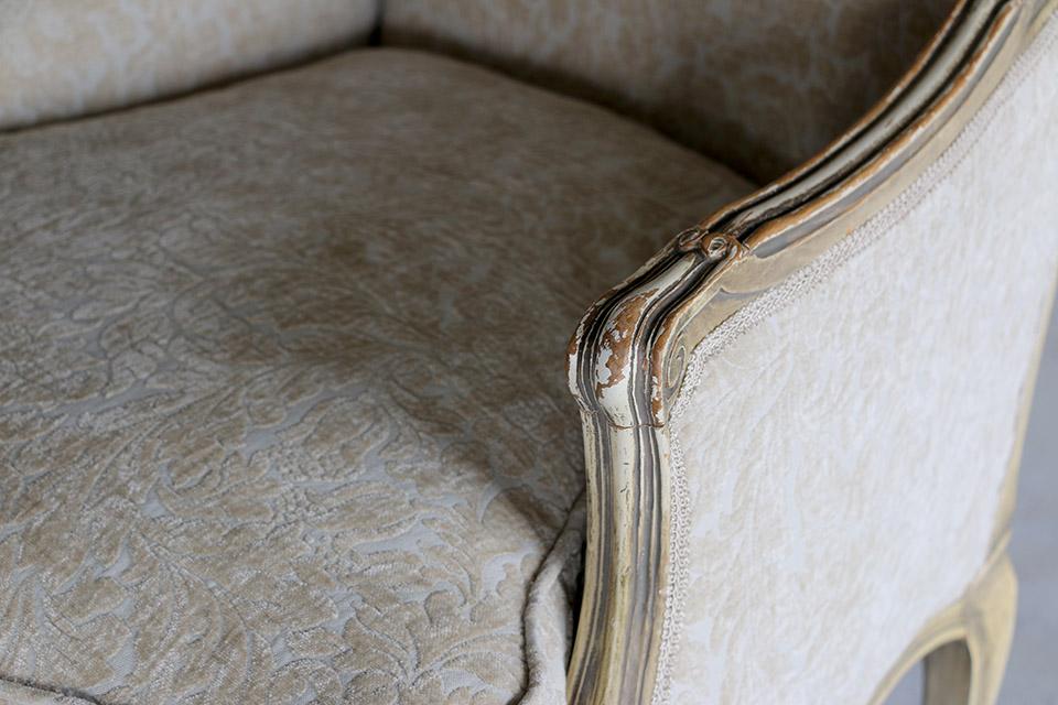 《 SALE 》 ふんわりと包まれるような座り心地のペインテッドアームチェアー 601