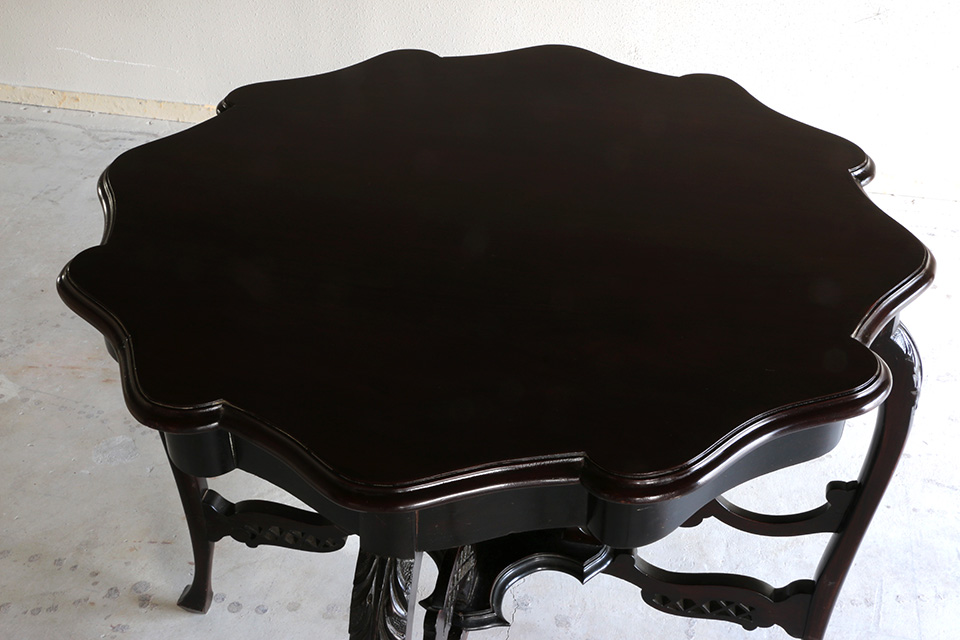マホガニー ダイニングテーブル 1531